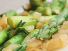 Szparagi sauté z cytryną